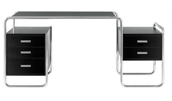 S 285 Bsp. 2 - weiß von Marcel Breuer hergestellt von Thonet