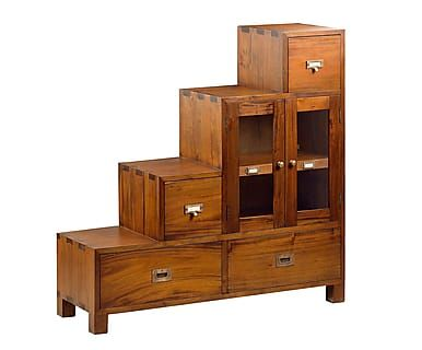 Mueble escalera en madera de caoba Flamingo I - marrón