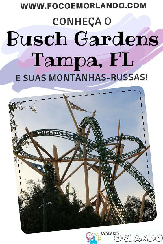 Pinterest - Busch Gardens Tampa