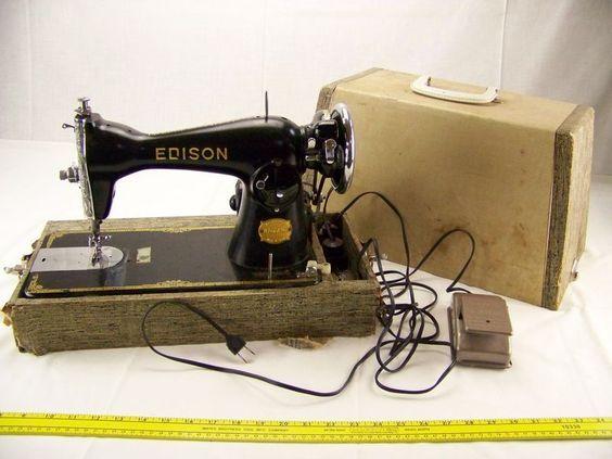 Edison sewing machine - 1953 Series - Made in Japan - #DA300190