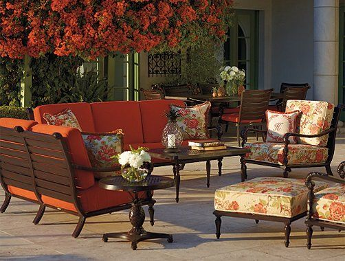 Frontgate British Colonial Outdoor Furniture Collection   Patio Furniture  Sets | Marissa Outdoor Furniture | Pinterest | British Colonial, Colonial  And ...