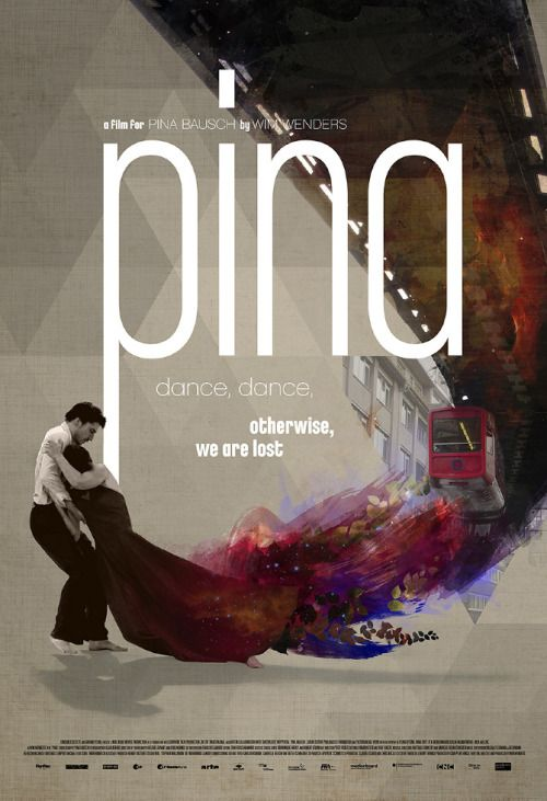 Pina (2011), by https://palavrasdecinema.wordpress.com/