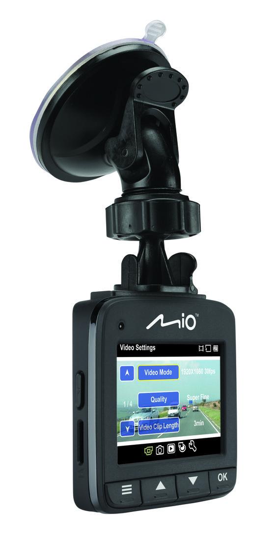 De Mio MiVue 600 dashcam registreert elke minuut van je reis in Full HD-kwaliteit bij 30 fps, zodat je altijd een getuige bij je hebt voor wat er op de weg gebeurd. Ideaal om uw positie in het geval van ongelukken te versterken. De Mio MiVue 600 filmt met een 150 graden groothoeklens, zodat er zoveel mogelijk van de verkeerssituatie in beeld komt. Bestel deze dashcam op http://www.kofferopdak.nl/a-41301626/dashcams/mio-mivue-600-dashcam/