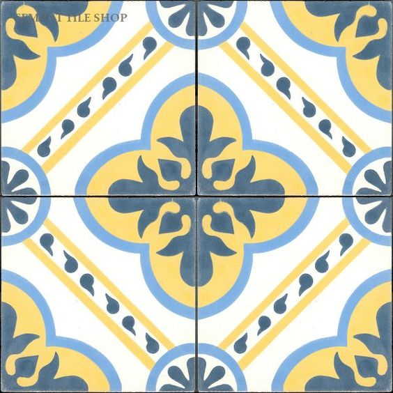 Cement Tile Shop - Encaustic Cement Tile Algeria- floor: