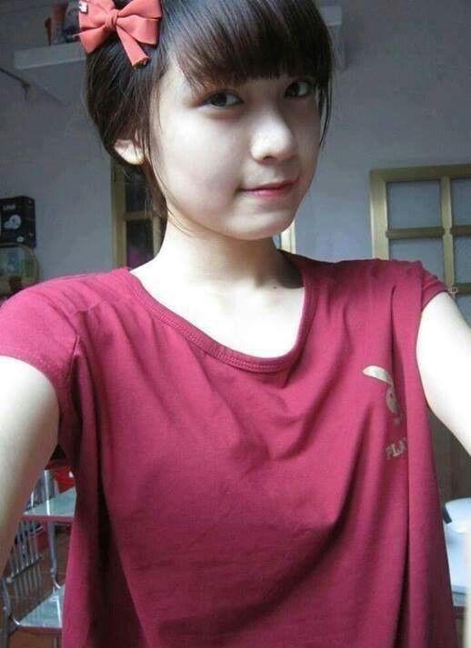 chinese girl selfie naked