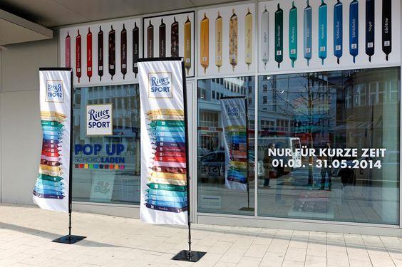 Der RITTER SPORT Pop Up SchokoLaden in Hamburg ist vom 01. März 2014 bis zum 31. Mai 2014 geöffnet.