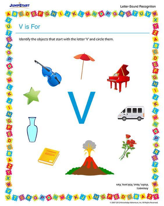 Free Reading Worksheet For Preschool