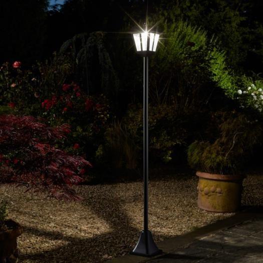 Smart Solar Post Light Solar Powered Lights