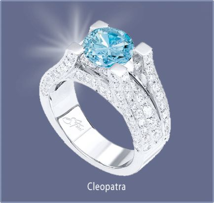 Sophia Fiori Blue Diamond 103