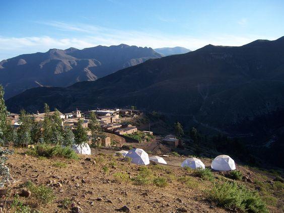 Domos    Pariacaca Camp