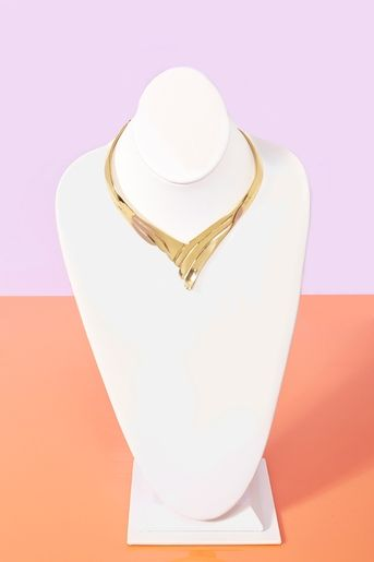 On Point Collar Necklace $20.00