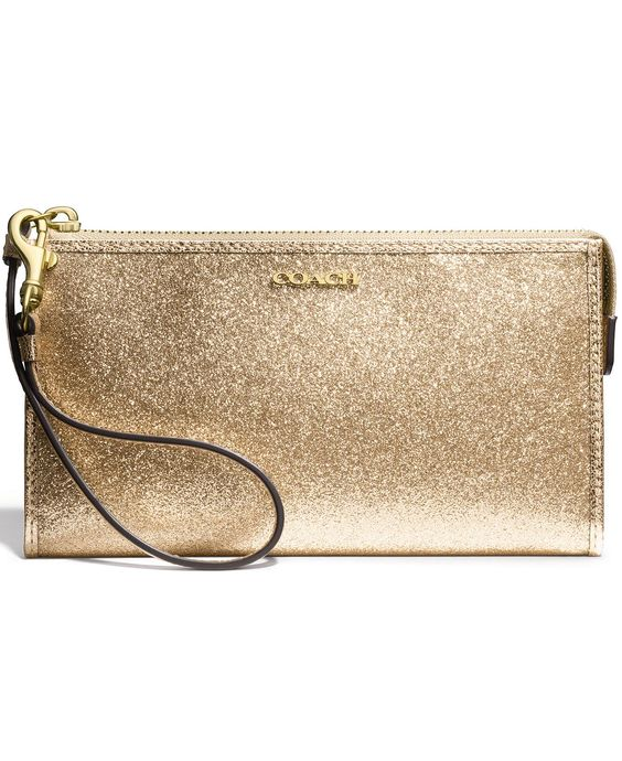 COACH ZIPPY WALLET IN GLITTER FABRIC - Wallets \u0026amp; Wristlets - Handbags \u0026amp; Accessories - Macy\u0026#39;s