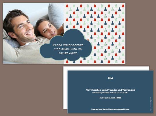 Weihnachtskarte «Oh Tannenbaum»