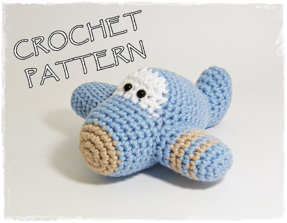 Amigurumi Plane crochet pattern available on Etsy from ByMarika ...