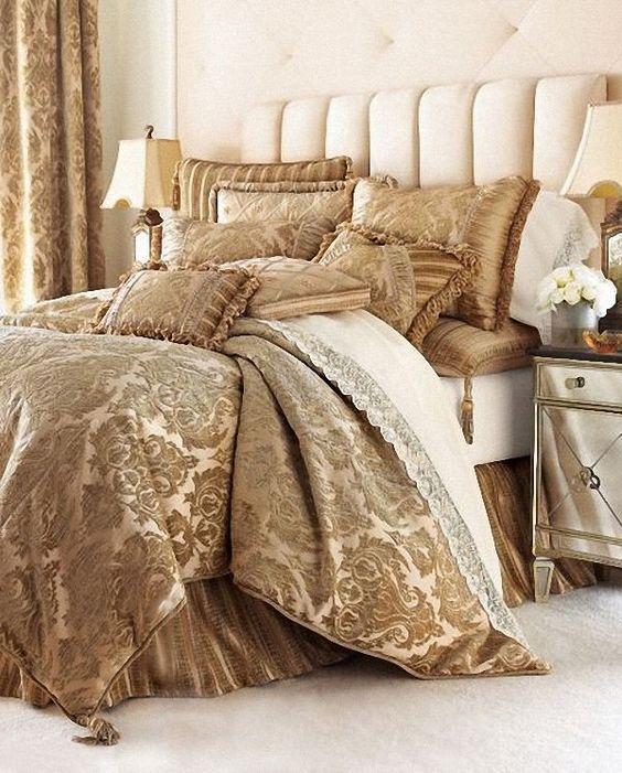 Contemporary Luxury Bedding   Interior Design, Contemporary Luxury Bedding Sets Comforters : Awesome ...