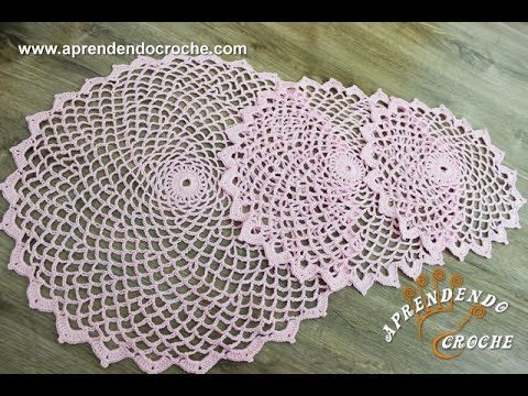 Toalha de Crochê Primavera - Aprendendo Crochê - YouTube