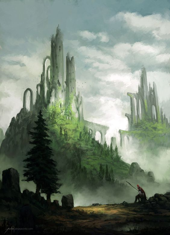 Fantasy war landscape - photo#28