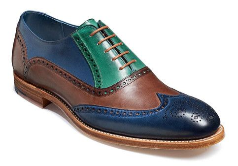 Men S Multi Colors Oxford Genuine Leather Wing Tip Handmade Brogues Toe Shoes Leather Shoe Laces Leather Brogues Quality Leather Boots
