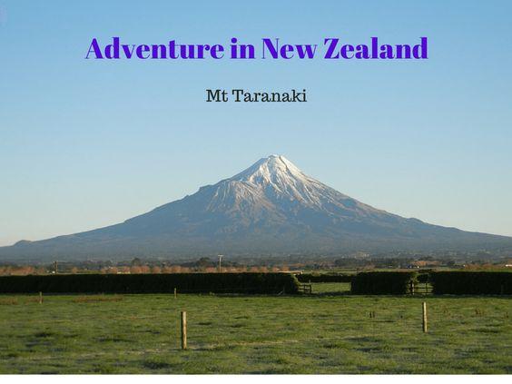 Adventure in New Zealand Mt Taranaki