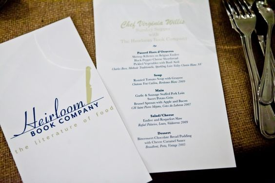 sounds like a fantastic menu to re-create