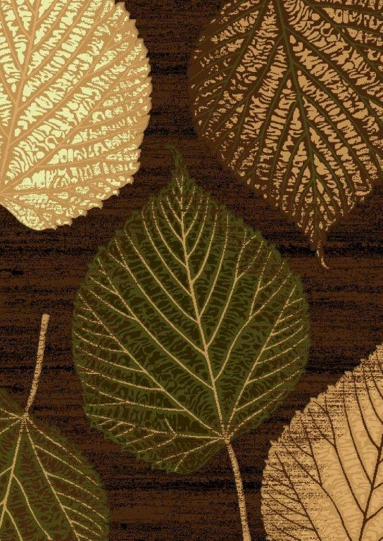 Leaf Design Area Rugs And Natural Brown On Pinterest