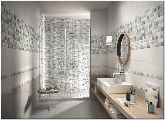 Rivestimenti Bagno Mosaico E Piastrelle  bagno  Pinterest
