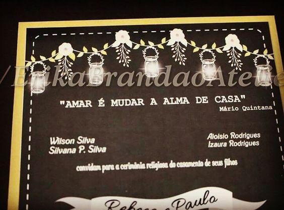 """Amar e mudar a alma de casa "" Quintana    #invite #wedding #bride #bridegroom #loveit #love #casamento #noiva"