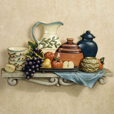 tuscany kitchen wall plaque from touch of class italian