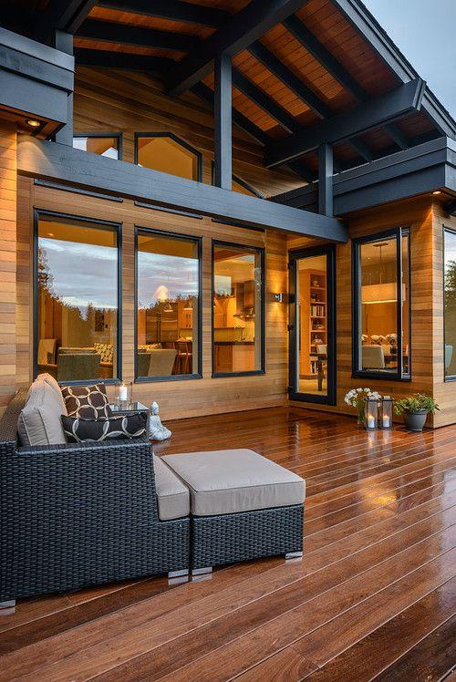 Decked Out! Wood Deck Backyard Summer Trends