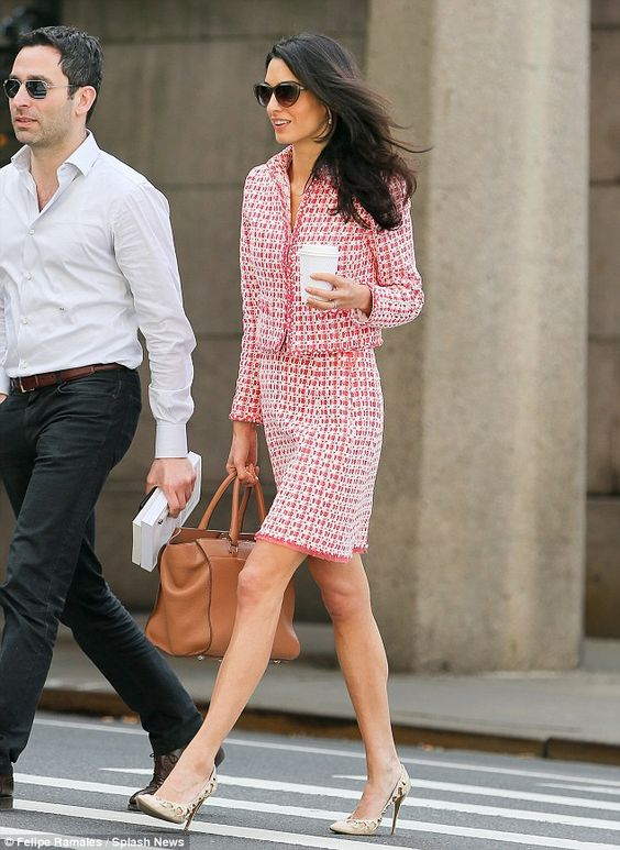 Professional: Amal is currently a visiting professor at Columbia University Law School...