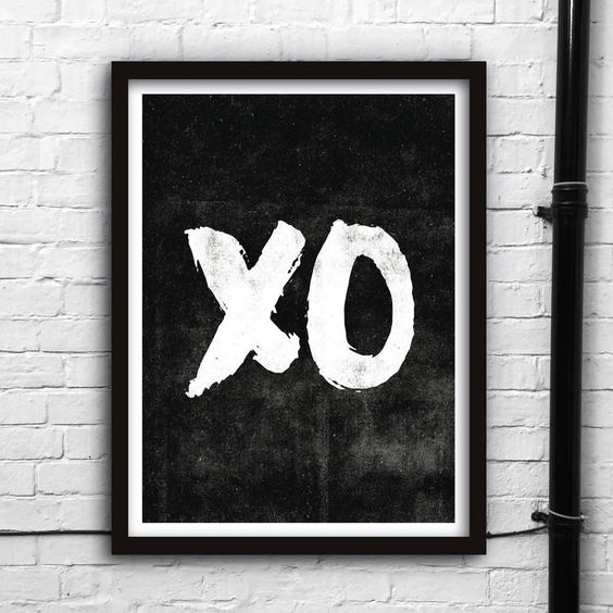 XO http://www.amazon.com/dp/B016MXMB96 motivational poster word art print black white inspirational quote motivationmonday quote of the day motivated type swiss wisdom happy fitspo inspirational quote