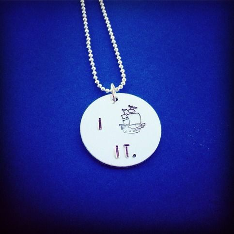 I Ship It Necklace Shipping Fandom Jewelry Handmade  You will receive one 18 necklace with a hand stamped pendant reading I (ship) it. Silver filled pendant, sterling silver plated ball chain. Nickel and lead free materials used, so nerds with sensitive skin need not worry!  Made by hand in Maryl