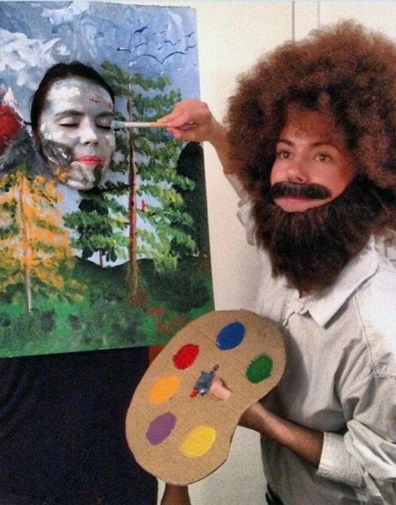 Tags great halloween costume ideas funny halloween costumes DIY halloween costumes bob ross bun in the oven creative costume tutorials cheap costume ...  sc 1 st  Platypus Clothing & 20 DIY Halloween Costume Ideas That Are Insanely Creative | Platypus U