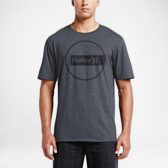 Hurley Construct Men's T-Shirt. Nike Store