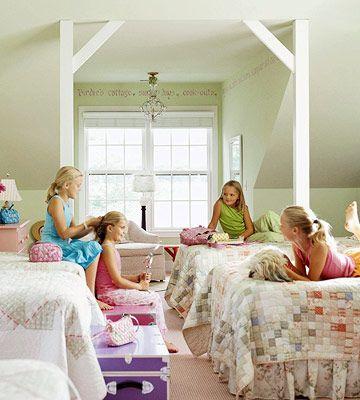 room for 4 girls