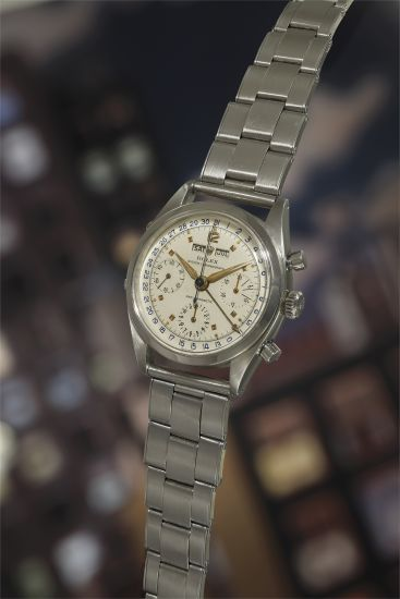 "Rare Rolex Oyster Chronograph Ref. 6236 ""Jean-Claude Killy"" Triple Calendar, 1958"