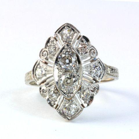 DECO DINNER RING – katie diamond jewelry
