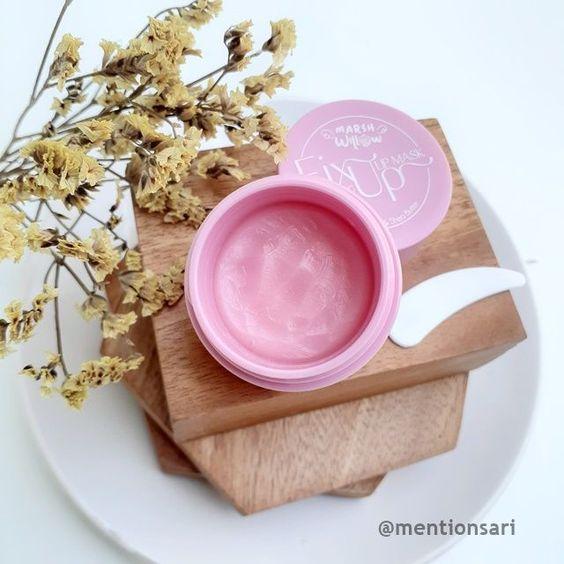 review lip mask shea butter