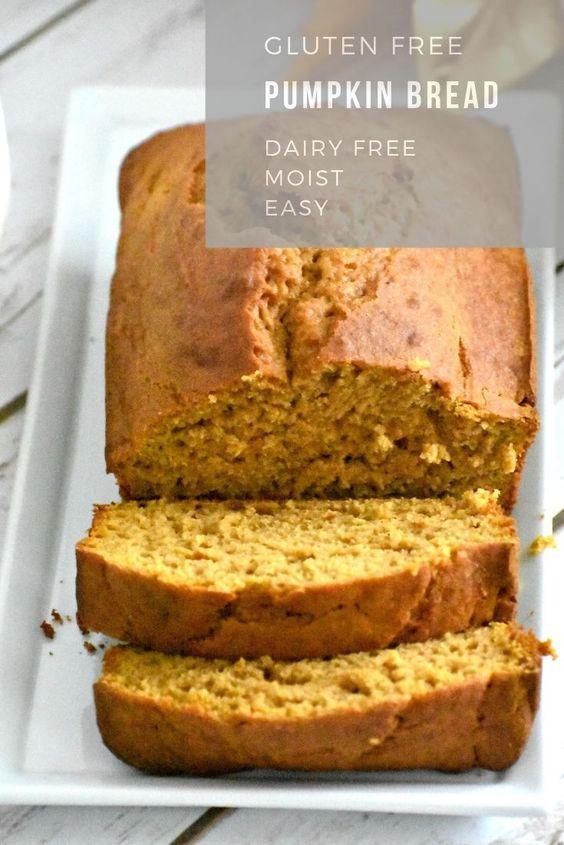 Easy Gluten Free Pumpkin Bread Recipe
