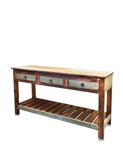 Reclaimed Wood Furniture Ventura Sofa Table At Myhabit Wood Pinterest Furniture Wood