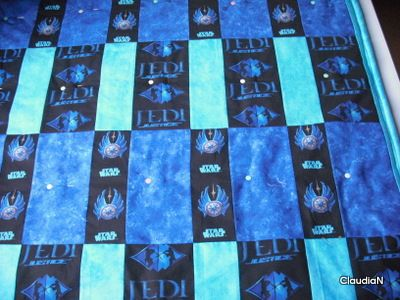 quilts star wars | Patchwork- und Quiltforum - - Quilt aus Star Wars Stoffen