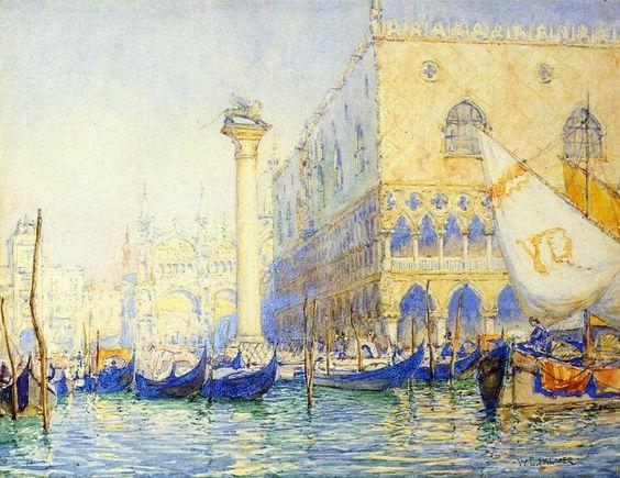 Walter Launt Palmer - Venice