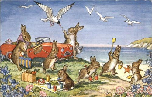An Illustrator's Inspiration: Jill Barklem and other animal lovers