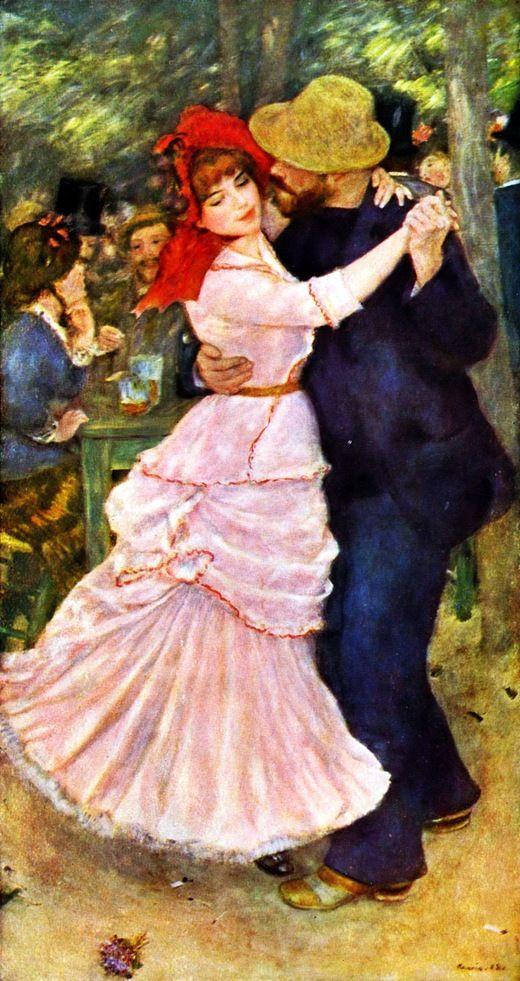 Пьер-Огюст Renoir. «Танец в Буживале» (1883)