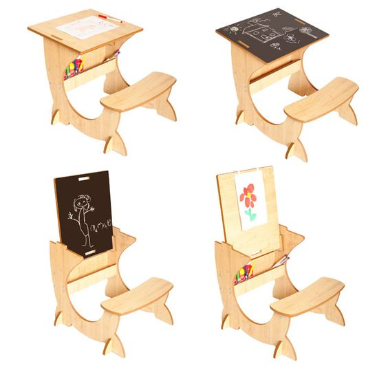 @lucaandcompany has the most innovative products for children! The Art Station is a funky 3-in-1 desk, blackboard and easel. Perfect for the #playroom!