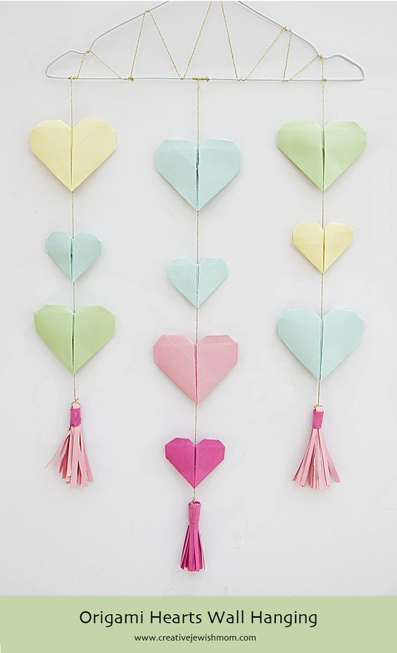 Paper Heart Wall Decor : The world s catalogue of ideas