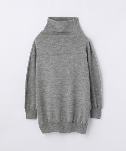 ウール ドレープハイネックプルオーバー(ニット・セーター) | TOMORROWLAND/トゥモローランド のファッション通販サイト - セレクトスクエア