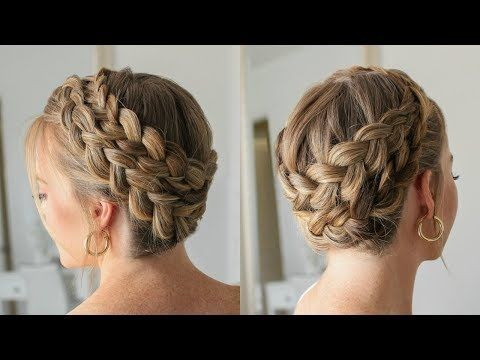 Double Dutch Crown Braid In 2020 With Images Braided Crown