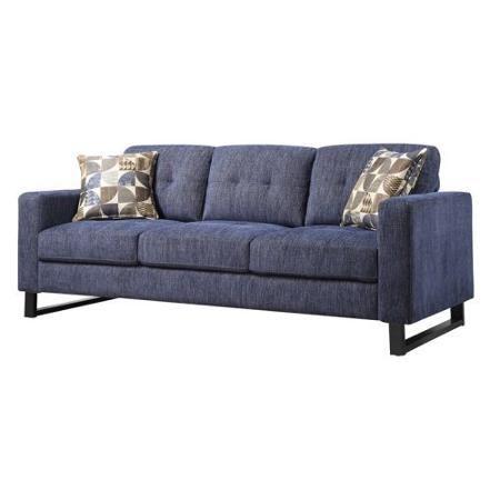 Emerald Home Indigo Sofa with Pillows