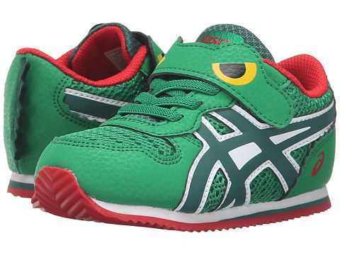 ASICS Kids Animal Pack (Toddler) Green/Dusky Green/Red - Zappos.com Free Shipping BOTH Ways